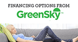 GreenSky Financing Available